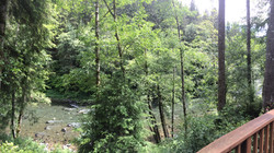 A_Cozy_River_House_I - Sol Duc River Pano