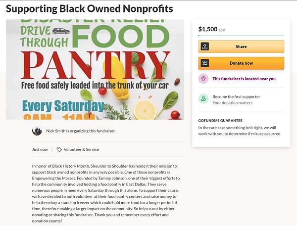 gfm supporting black owned nonprofits.pn