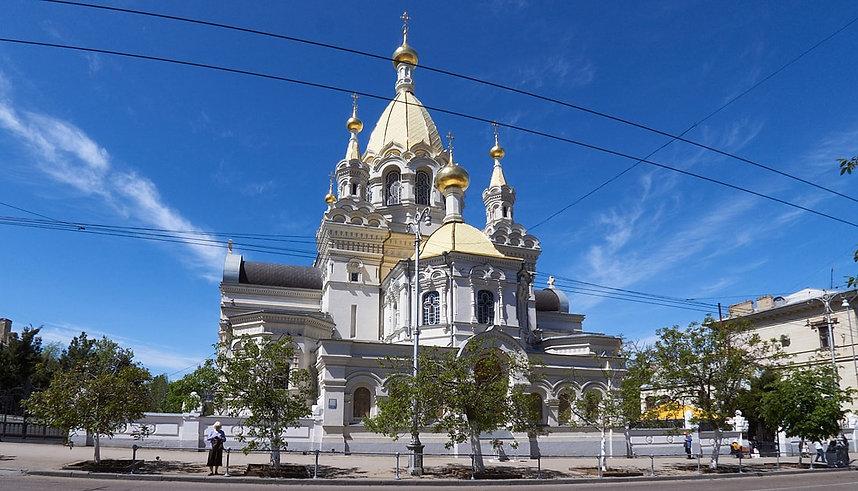 Соборный храм Покрова Богородицы. г.Севастополь.