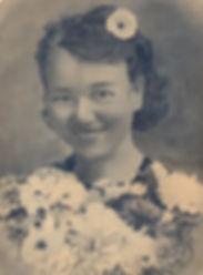 Пищикова Л.И. Портрет. 1943г. г.Суджа