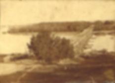 Плашкоутный мост. Станица Аксайская. 1860-1870гг.