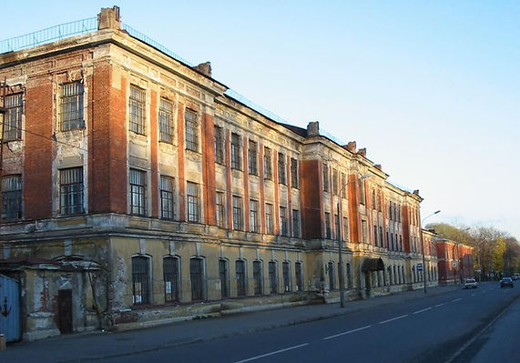 Электро-минная школа. г.Кронштадт.