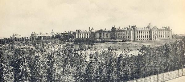 Киевский политехнический институт. Фото конца XIX в.