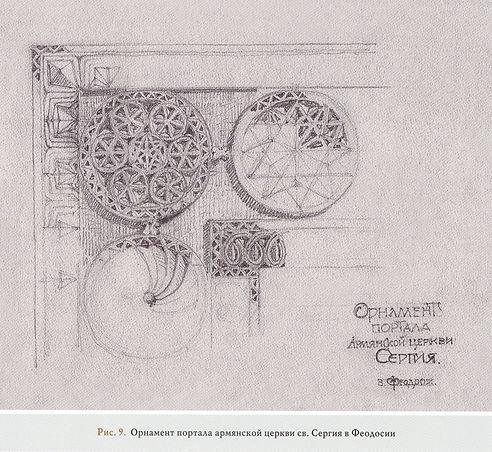 Рис.9. Орнамент портала армянской церкви