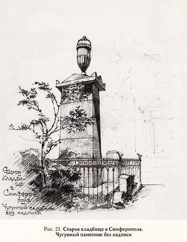 Рис.21. Старое Кладбище в Симферополе. Ч