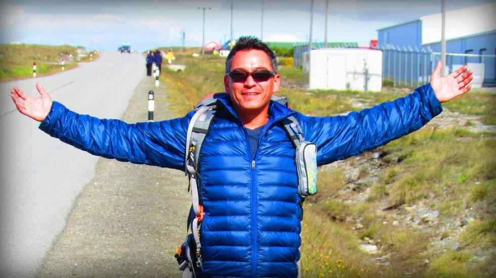 Pete - Hiking the Falkland Islands off the coast of Argentina