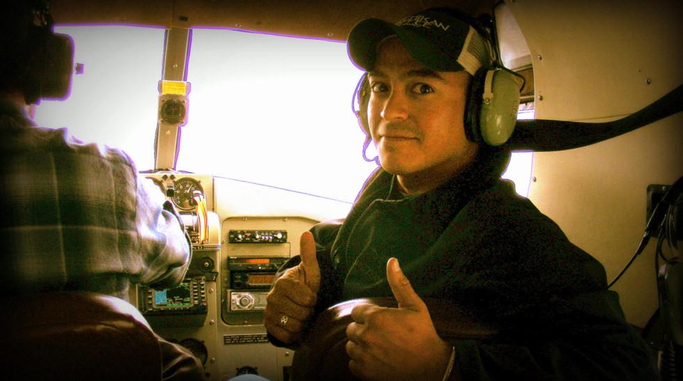 Pete - Alaska floatplane (seaplane) trip to Misty Fjords National Monument