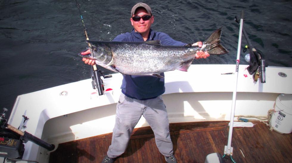 Pete - Best Fishing In Alaska, LLC - 30lb. King Salmon Fishing Derby
