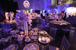 Purple Wedding Tablescape