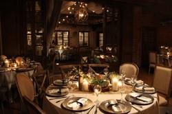 Cozy Wedding Tablescape