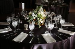 Dark and Dramatic Tablescape