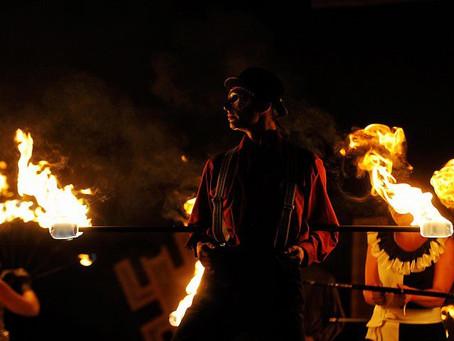 Bezpieczeństwo pokazów ognia