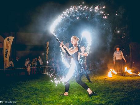 Taniec z Ogniem - event firmy M-MOT