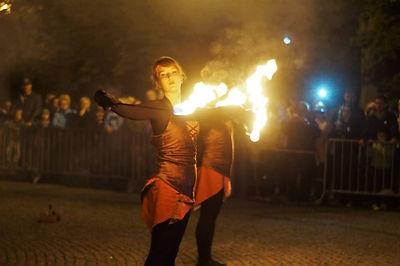 taniec ognia inowrocław