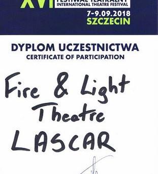 Widowiskowe fireshow na Międzynarodowym Festiwalu Teatralnym ProContra!