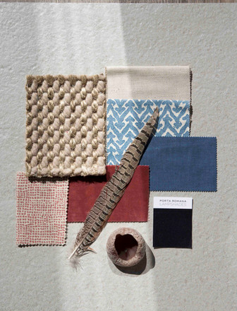 Fabric moodboard