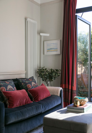 Living room styled by Hume