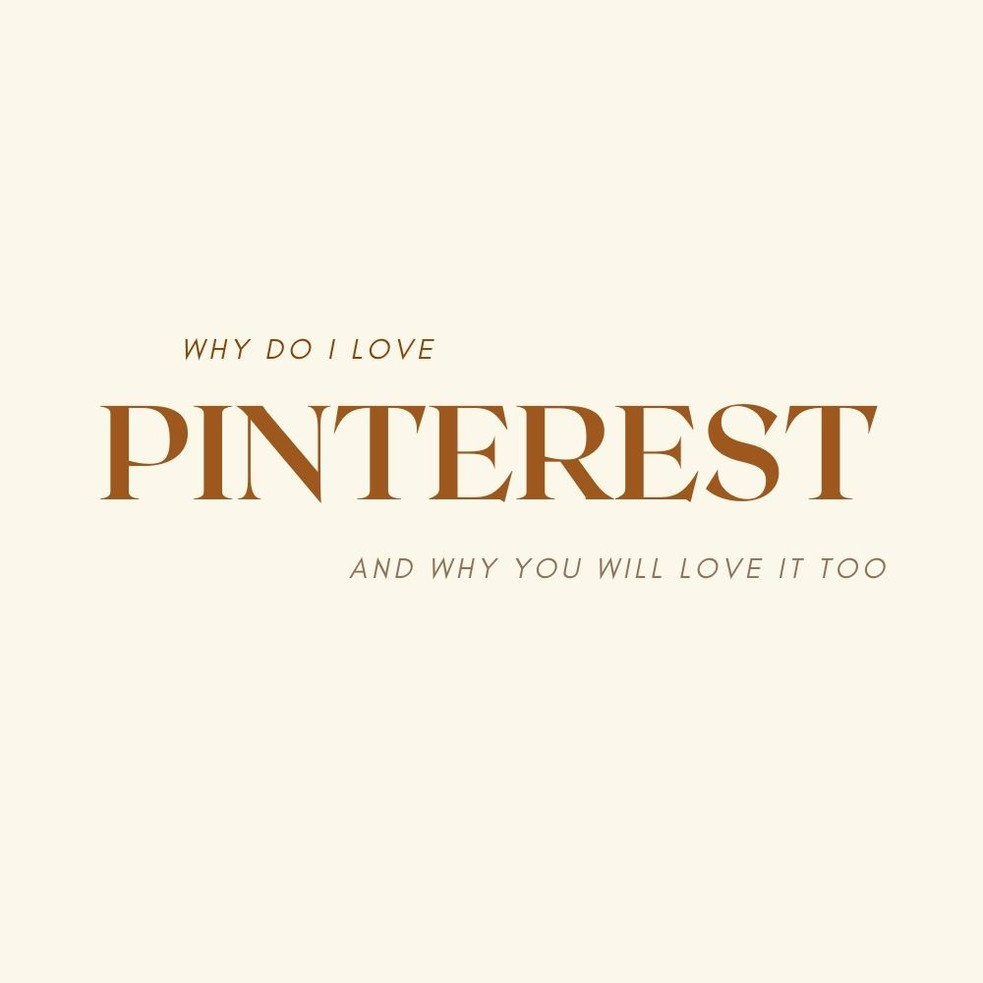 Why do I love Pinterest so much