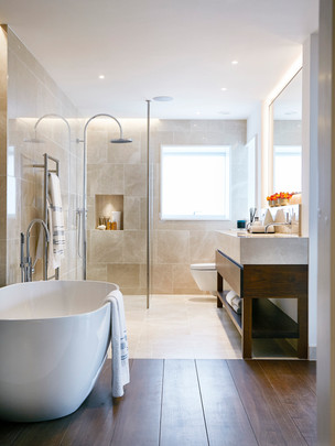 Bathroom at Hartford Manor