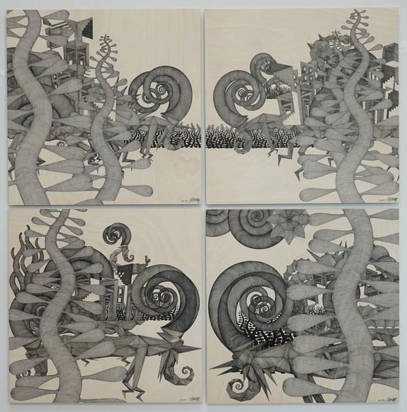 """Odyssey, A Midsummer day's dream 2"""" by Cheol Yu Kim"""