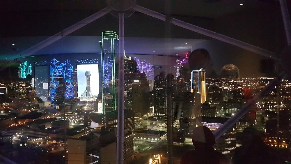 בתמונות: דאלאס ממרומי המצפה,