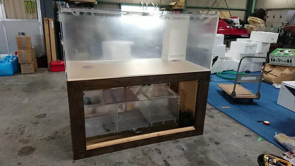 1500×750×600H水槽Set