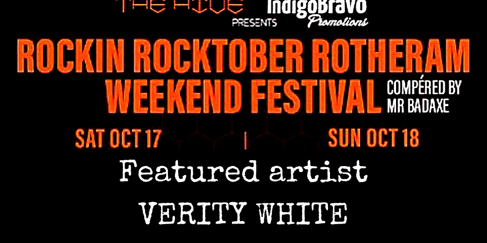 Rockin Rocktober Rotherham feat' Verity White