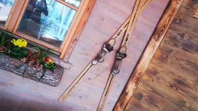 Herbert´s erste Skier