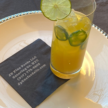 High Octane Signature Cocktail | Tequilla, Carmelized Pineapple, Jalepeno Syrup