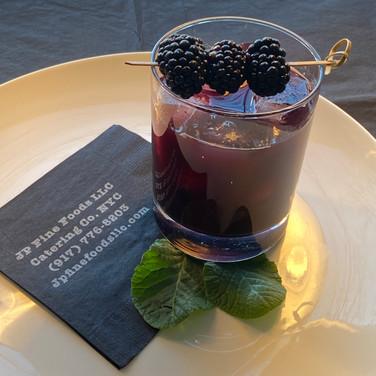 Scotch Berry Signature Cocktail | Huckleberry, Maple