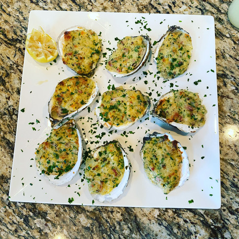 Oysters Bienville - New Orleans Menu