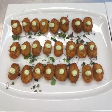Croquettes Jamon/ Herb Aioli