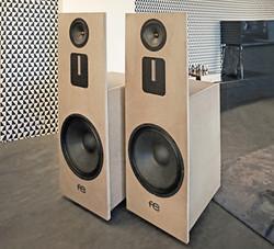 fe speakers side by side