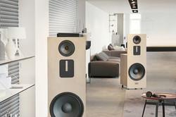 Fe loudspeaker side by side