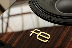 Fe Speakers mahogany veneer