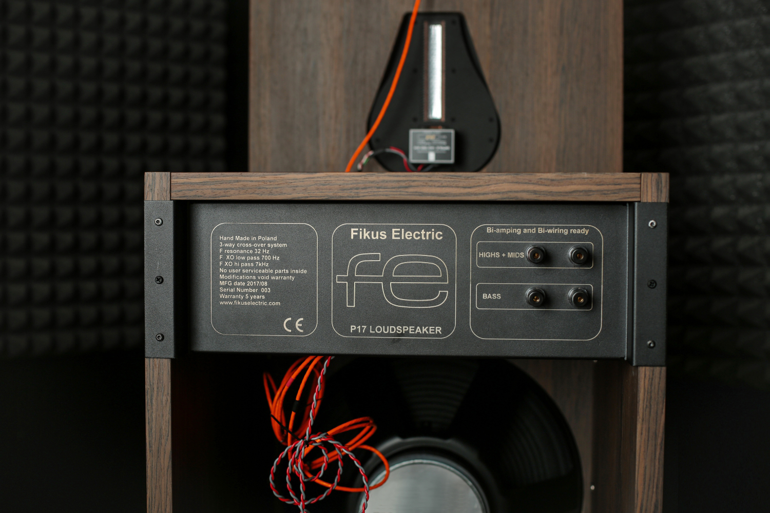 FE SPEAKERS terminals