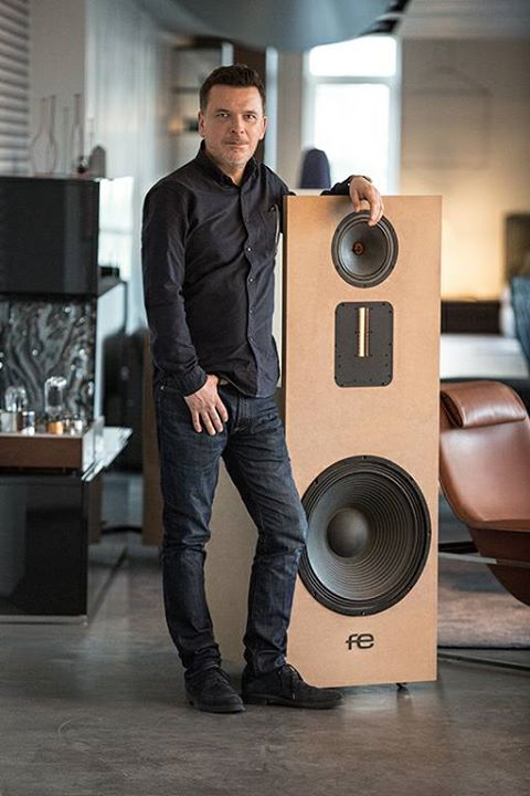 Łukasz Fikus. Fe loudspeakers