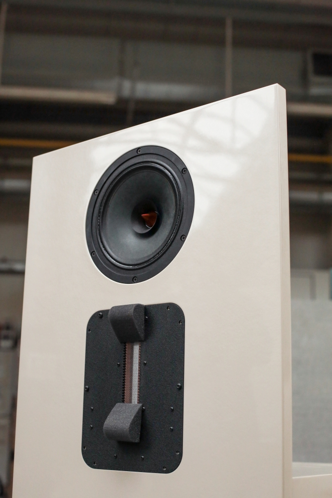 Fe speakers nacre finish
