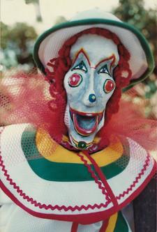 White Skinny Clown