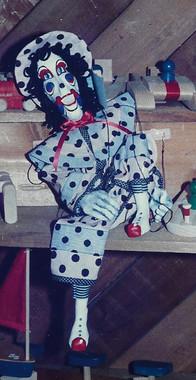 Polka Dot Skinny Clown