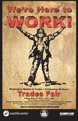 2019 Washington Women in Trades Poster