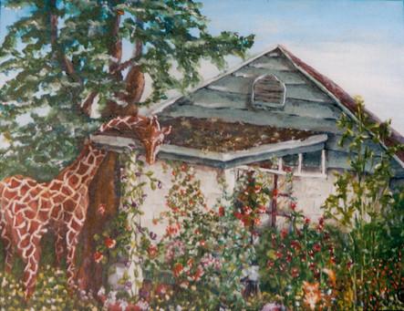 Ashworth Cottage with Giraffe