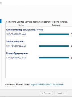 Déployer rapidement un serveur RDS