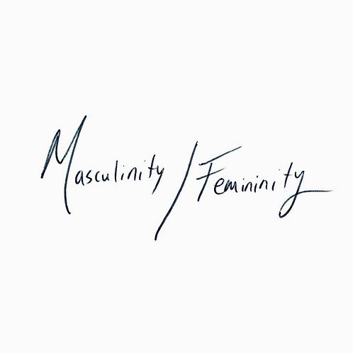 Masculinity/Femininity sticker