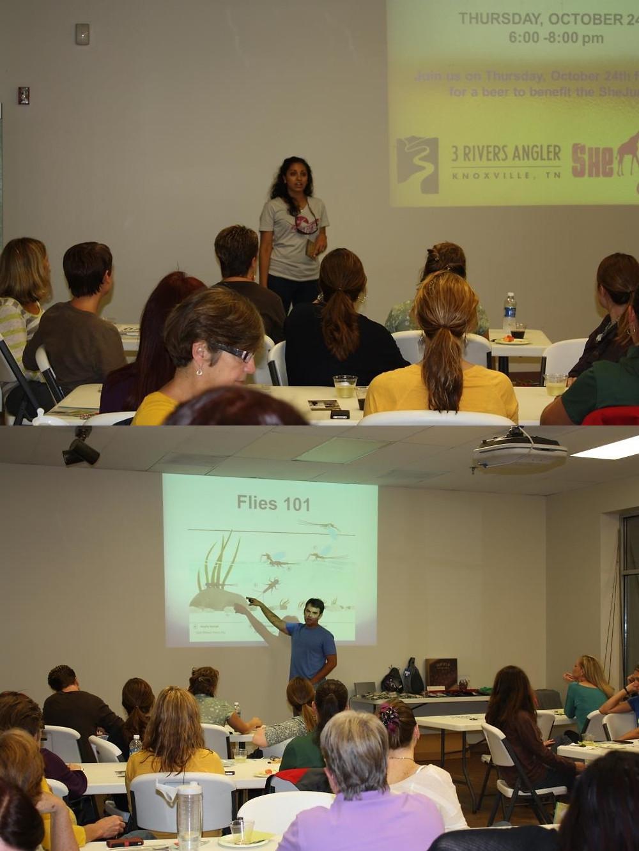 Samantha Bild and Allen Gillespie were wonderful event organizers and instructors.