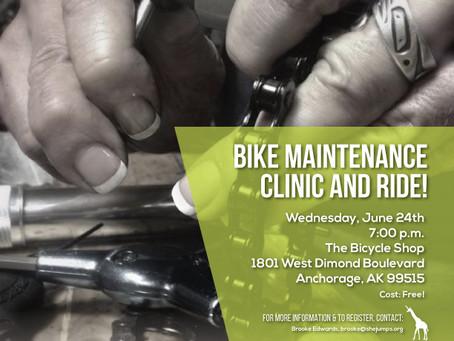 Bike Maintenance Clinic and Ride!