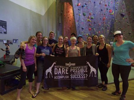 SheSends Spokane: Climbing Clinic  – Recap