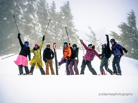 Get the Girls Out Mt Bachelor, Spring '13 Recap!
