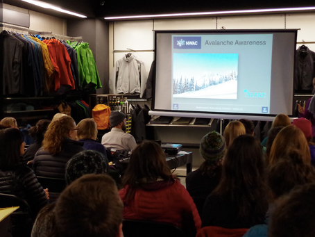 Avalanche Awareness Evening at Arc'teryx Portland – RECAP