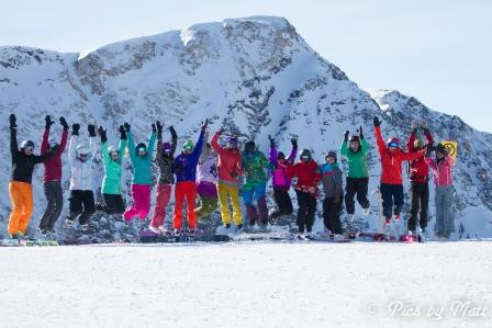 12/12/15: Third Annual International Women's Ski (& Snowboard) Day
